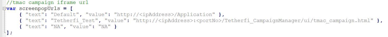global_vars.js parameter for screenpopUrls